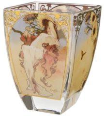 Sommer 1897 Windlicht Artis Orbis Goebel Bunt