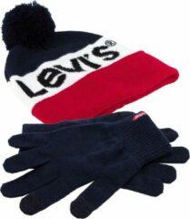 Levi's Levi Muts (fashion) - Maat L - Unisex - rood/wit/blauw