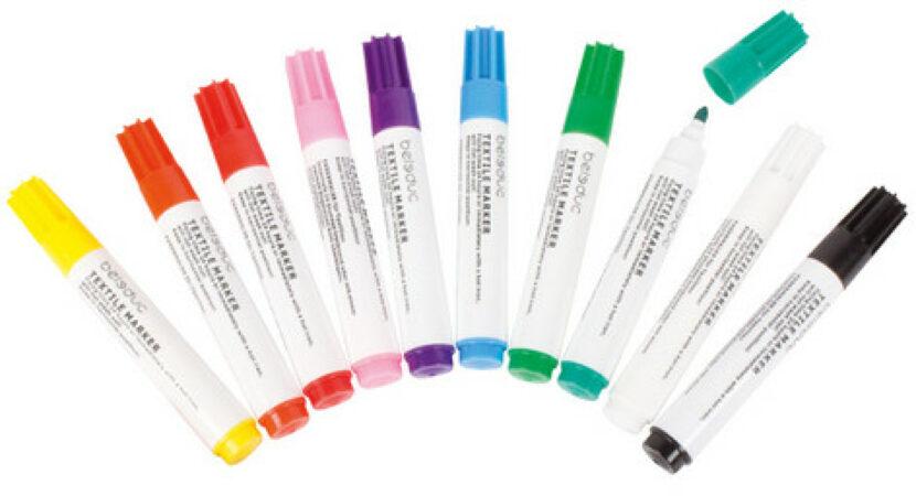 Afbeelding van Beleduc Viltstiften voor textiel