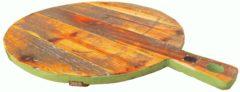 Houten snijplank rond groen | GerichteKeuze