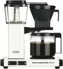 Gebroken-witte Filterkoffiemachine KBG Select, Off-White – Moccamaster