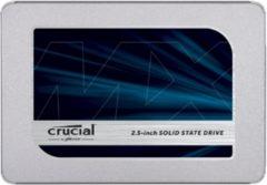 Crucial CT250MX500SSD1 SSD harde schijf (2.5 inch) 250 GB MX500 Retail SATA 6 Gb/s