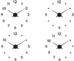 Zwarte Balance Wall Clock 60 cm Black