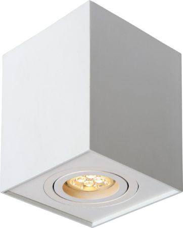 Afbeelding van Witte Lucide Plafondspot Tube Vierkant GU10 1-Lichts Dimbaar - Wit