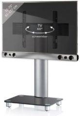 TV-Standfuß + Soundbar 'SBM600' | TV-Wandhalterung incl. Soundbarhalterung VCM silber/aluminium