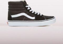 Witte Vans SK8-Hi Sneakers - Black/Black/White - Maat 45