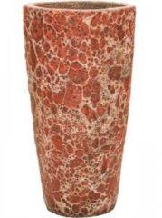 Baq Design Lava Relic pink partner hoge bloempot 35x65 cm