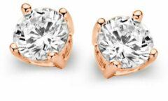 Goudkleurige Casa Jewelry Oorknoppen Marry M van zilver rosé verguld