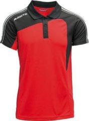 Masita Forza Polo - Rood - Zwart - Maat M