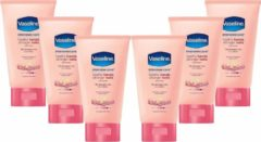 6x Vaseline Creme hand & nail tube 6x75 ml - Voordeel Verpakking