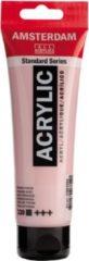Roze Royal Talens Amsterdam Standard acrylverf tube 120ml - 330 - Perzischrose - dekkend