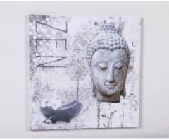 3D Bild Buddha HTI-Line Bunt