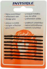 Zwarte Invisible - Haarschuifjes - Zwart - Lang - 9 Stuks