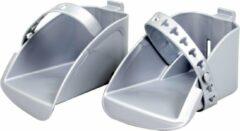 Polisport set voetenbakjes Boodie/Bubbly maxi zilver