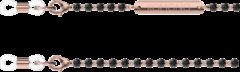 Roze Komono Vega Black Zonnebril Koord J1110 zwart