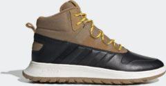 Zwarte Adidas Fusion Storm Wtr Heren Sneakers - Mesa/Mesa/Core Black - Maat 45 1/3