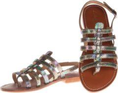 L'Atelier Tropezien - sandalen - maat 40 - dames - metallic - zilver