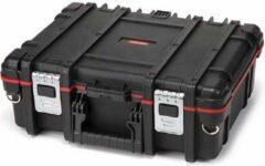 Keter Technician - Gereedschapskist - Zwart-rood - 48x38x17.5cm En Yourkitchen E-kookboek - Heerlijke Smulrecepten