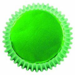 Groene PME Legend Cupcake Cups PME Metalllic Groen 30 stuks