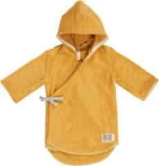 Gele Koeka Dijon badjas van biologisch katoen