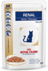 Royal Canin Veterinary Diet Renal Chicken Wet - Kattenvoer - 12x85 g