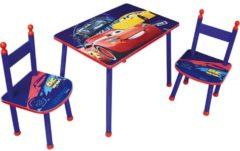 Rode Disney Disney Cars Tafel en stoeltjes/Zithoekje - BlauwTafel en stoeltjes/Zithoekje - Blauw