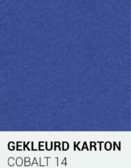 Blauwe Gekleurdkarton notrakkarton Gekleurd karton cobalt 14 A4 270 gr.