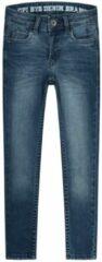 Blauwe Quapi! Jongens Lange Broek - Maat 128 - Denim - Jeans