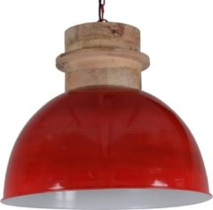 Collectione Hanglamp Legno 50 cm glans rood