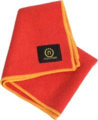 Natural fitness Yoga handdoek (hand) rood/geel