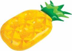 Gele Sunnylife opblaasbare drankjeshouder Ananas