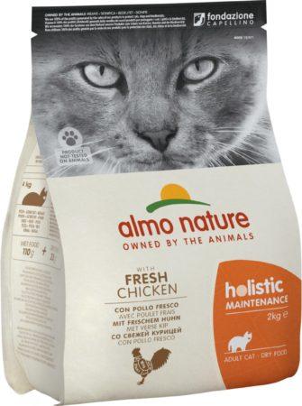 Afbeelding van Almo Nature Cat Holistic Adult 2 kg - Kattenvoer - Kip&Rijst Holistic
