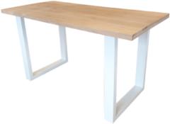 Bruine Wood4you - New england statafel Eikenhout 180Lx110Hx90D cm
