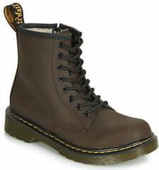 Bruine Boots en enkellaarsjes 1460 Serena J Warm by Dr. Martens