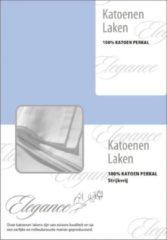 Lichtblauwe Elegance Laken Katoen Perkal - licht blauw 240x275