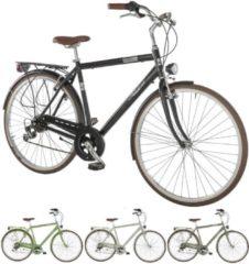 28 Zoll Herren City Fahrrad 7 Gang Alpina Bonneville Alpina hellgrau