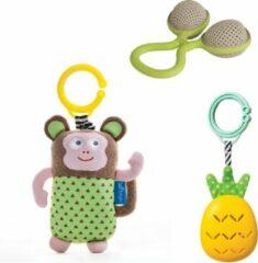 Groene Taf Toys - Rammelaars - set van 3