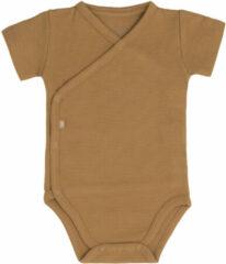 Baby's Only Rompertje Pure - Caramel - 62 - 100% ecologisch katoen - GOTS