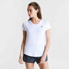 Dare 2b - Women's Vigilant Active T-Shirt - Outdoorshirt - Vrouwen - Maat 42 - Wit