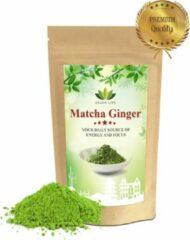 Matcha Winkel Japanse Matcha Thee Ginger - 50 gram - Verhoog uw weerstand met Matcha Ginger