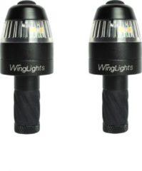 CYCL WingLights360 Magnetisch - LED Fietsverlichting - Richting Aanwijzer & Zijlichten voor aan Stuur - Zwart