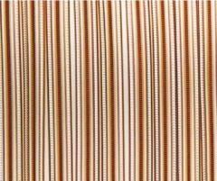 Lesli living vliegengordijn bruin stippen pvc 90 x 220cm