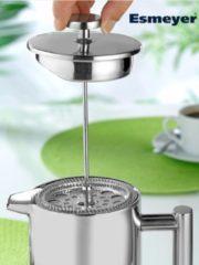 Kaffeebereiter Esmeyer silberfarben