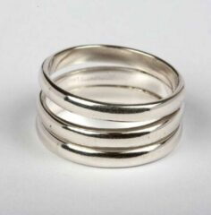Esperanza FT 053700 Ring Zilver 3 Draad-21