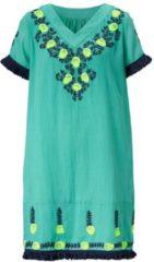 BAMBOLA Kleid, mit Neonstickerei, Feminin, Baumwolle