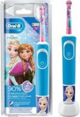 Blauwe Oral-B Kids Frozen - Elektrische Tandenborstel Voor Kinderen - 1 Handvat en 1 opzetborstel