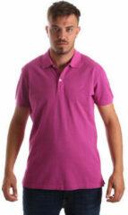 Roze Polo Shirt Korte Mouw Navigare NV82086