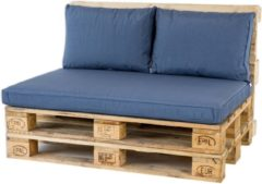 2L Home & Garden Madison Palletkussen Lounge Panama Safier Blue - 120 x 80cm