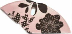 BLS jasbeschermerset lakdoek 28 inch 57 cm bloemen zacht roze