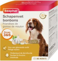 Beaphar Schapenvetbonbons Knoflook - Hondensnacks - 6 x Mini